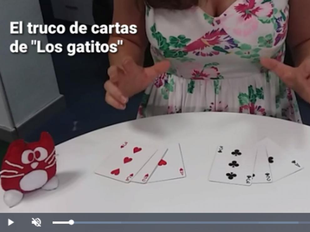 Magia con Beatriz Palacio: el truco de 'los gatitos'