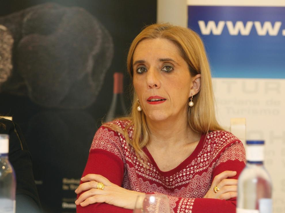 La concejala de Personal del Ayuntamiento de Soria, Teresa Valdenebro, en una imagen de archivo.