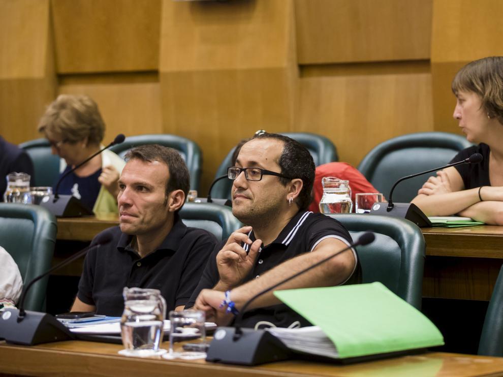 Alberto Cubero, en el pleno del pasado mes de mayo.