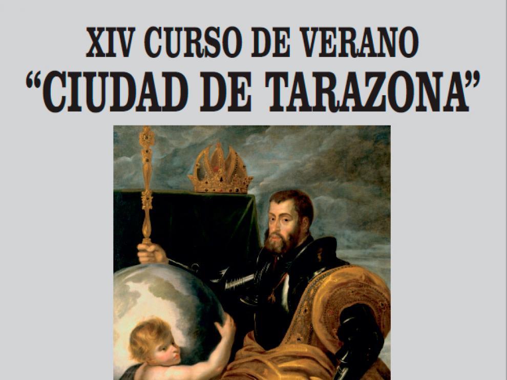 Cartel del curso 'Ciudad de Tarazona'.