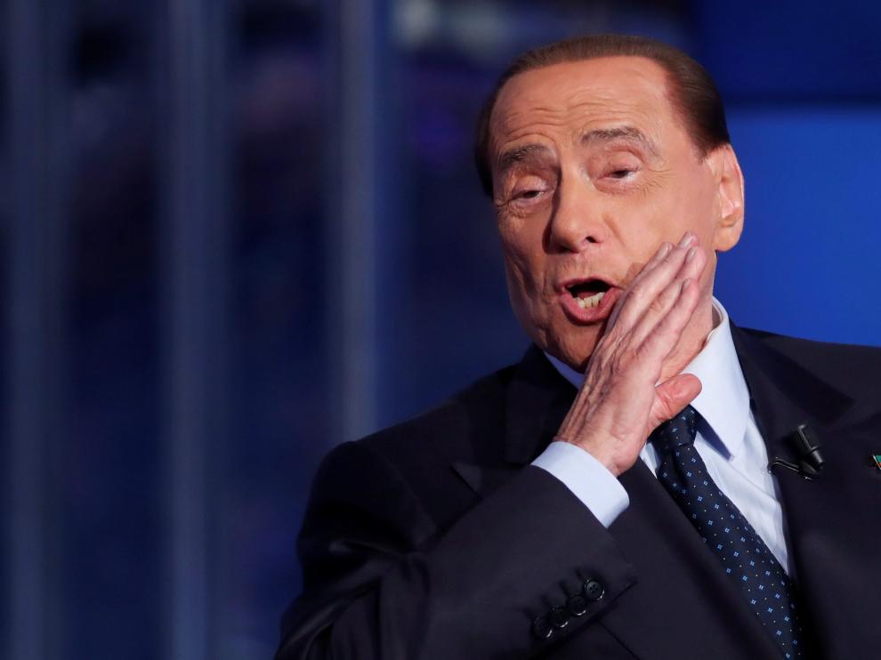 Berlusconi, el pasado día 21.