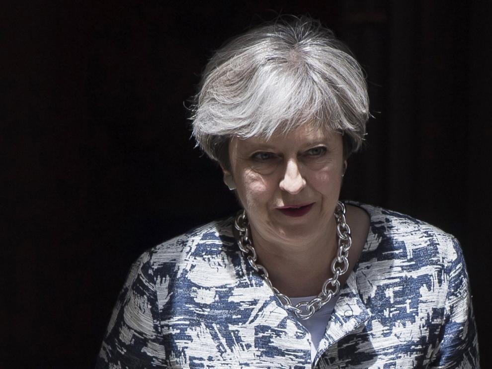 La primera ministra británica, Theresa May, en una foto de archivo