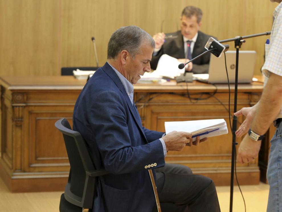 Antonio Cosculluela fue citado como testigo por la acusación popular.