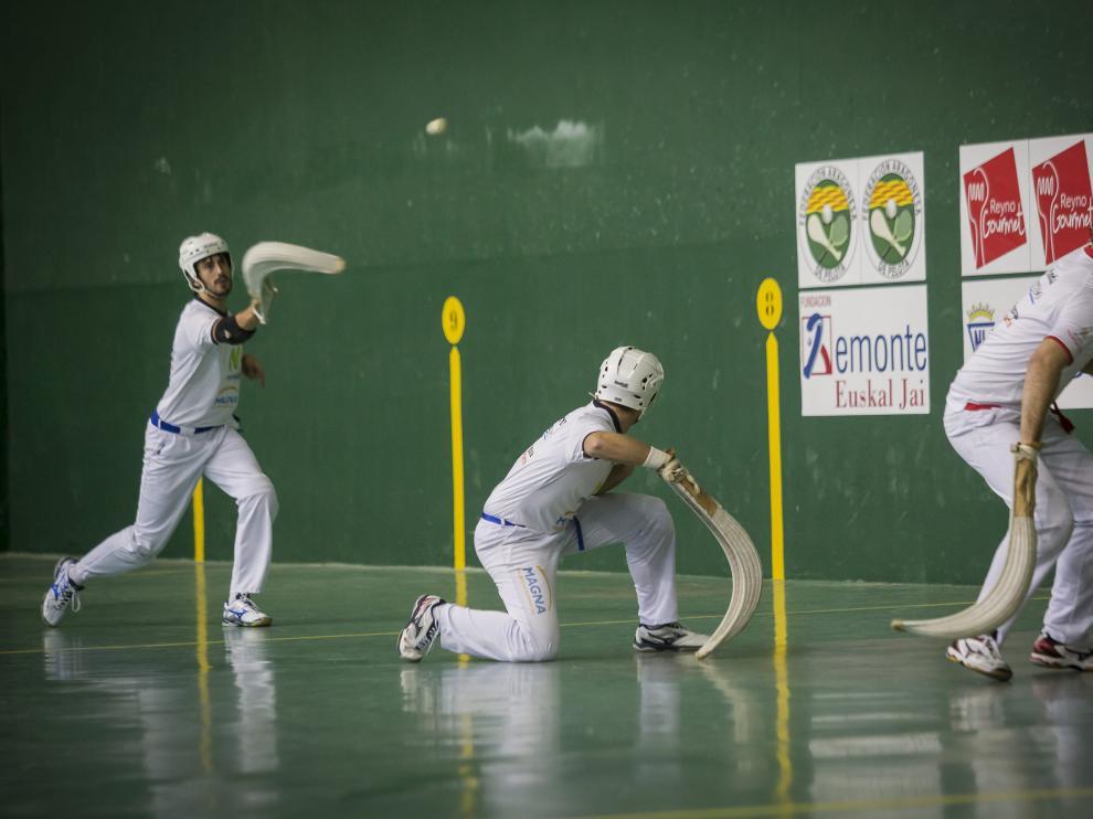 El frontón del CN Helios celebró en noviembre un torneo de remonte.