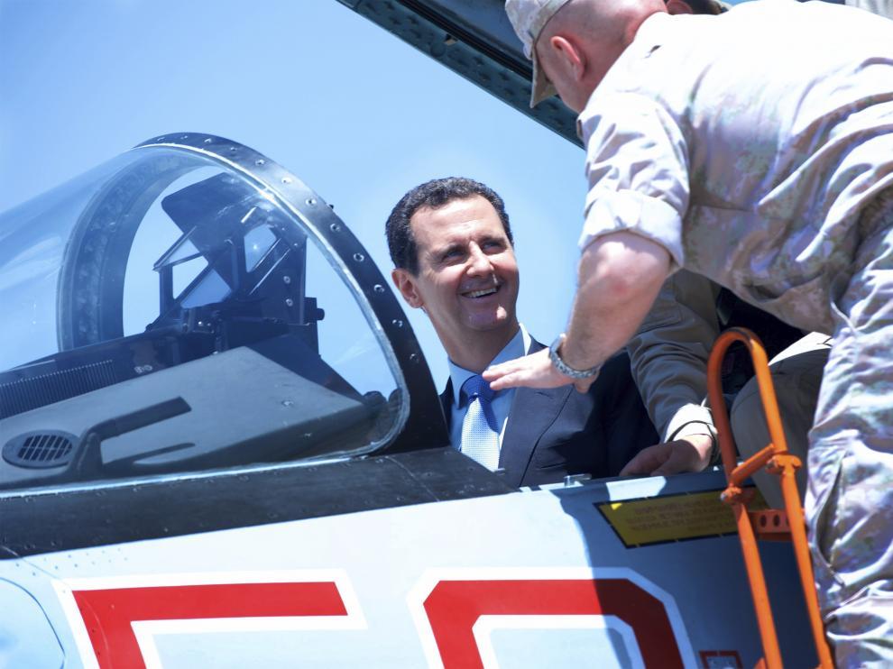 El presidente sirio Al Asad.