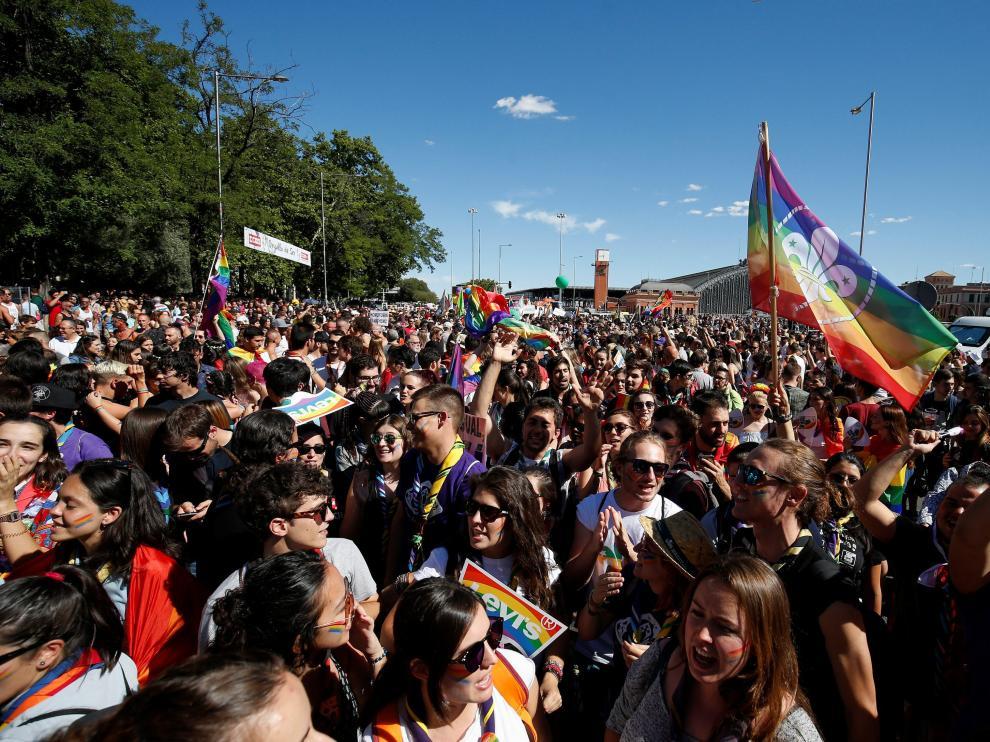 Celebración de la World Pride 2017 en Madrid