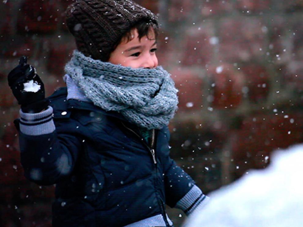 Imagen del documental 'El lápiz, la nieve y la hierba'.