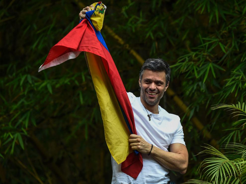 Leopoldo López en una imagen de archivo.