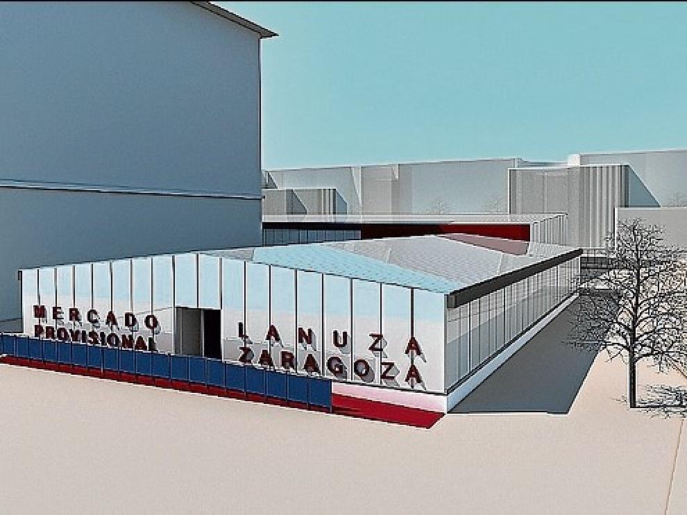 Recreación de la zona de San Juan de los Panetes.