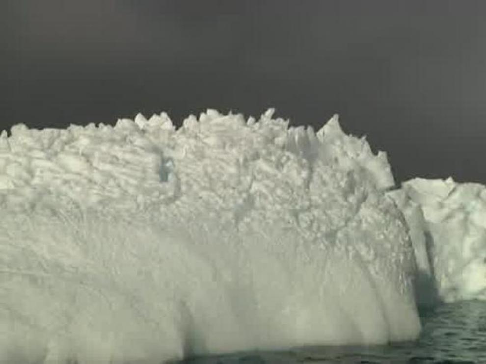 Una imagen de la Antártida.