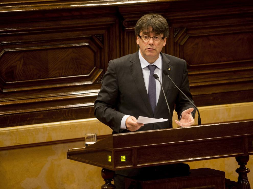 Puigdemont, en una foto de archivo.