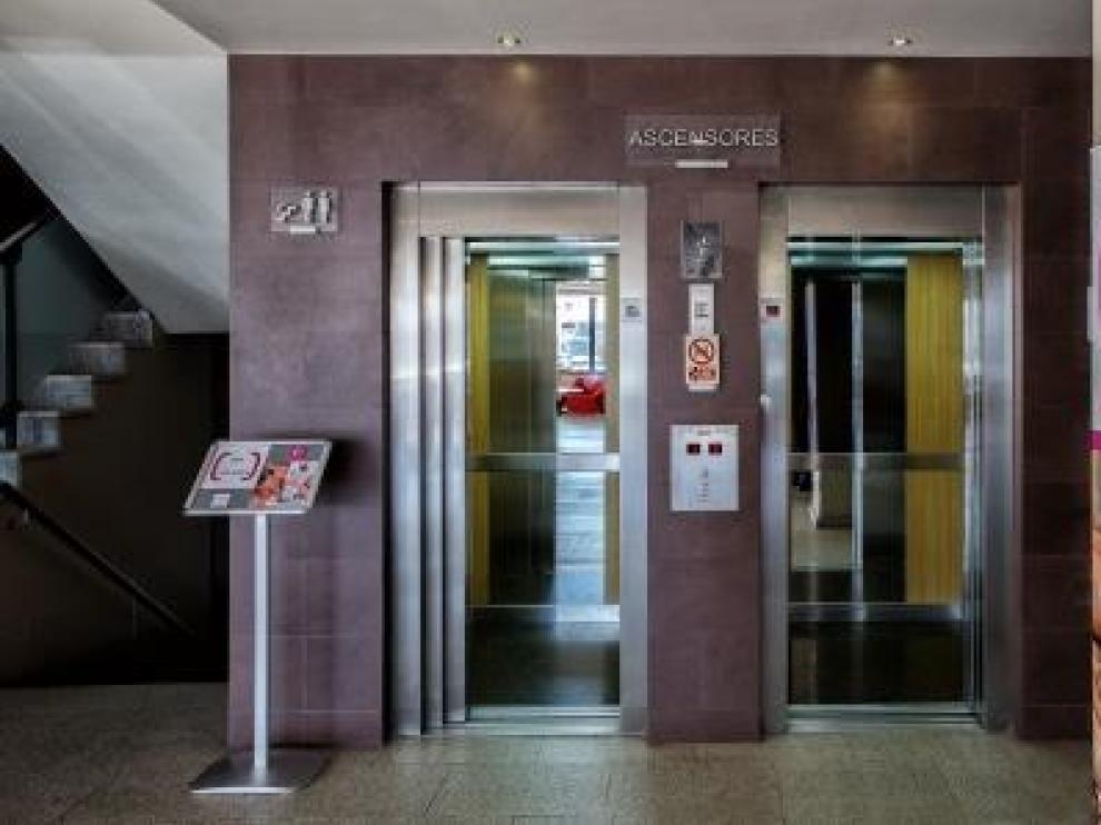 Uno de los ascensores instalados por Ascensores Johima.