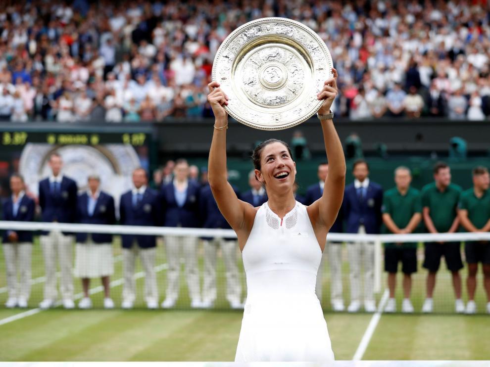 """Muguruza: """"Serena Williams me dijo que algún día ganaría, y aquí estoy""""."""