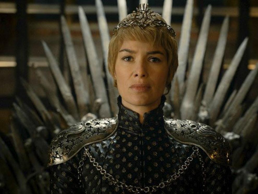 Cersei Lanister, una de las protagonistas de la serie y de esta nueva temporada