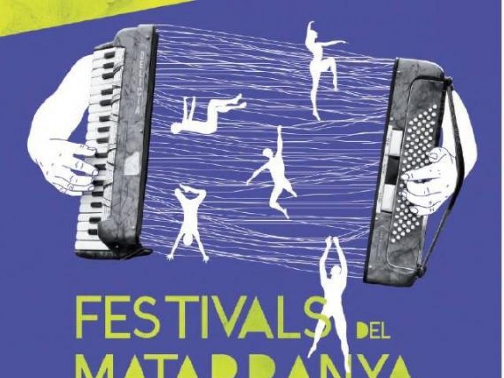 Cartel anunciador de los 'Festivals del Matarranya'.