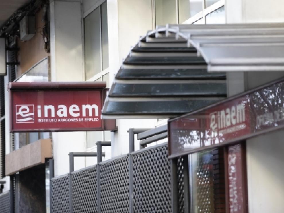 Una oficina del INAEM.