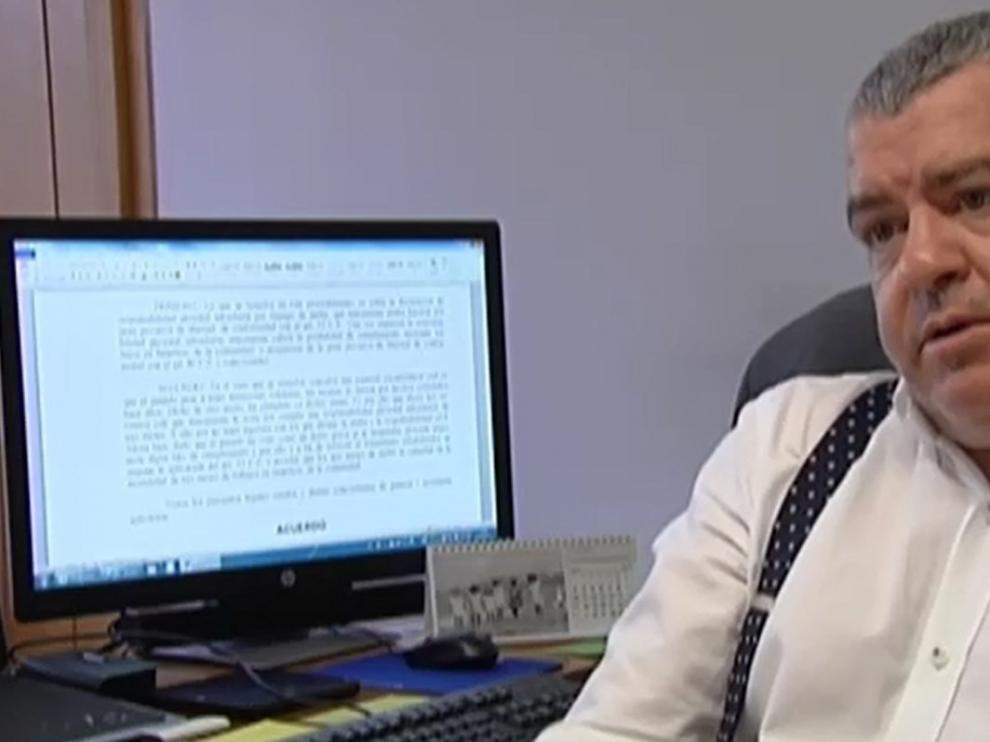 El magistrado José Antonio Vázquez Taín, titular del juzgado número 2 de La Coruña
