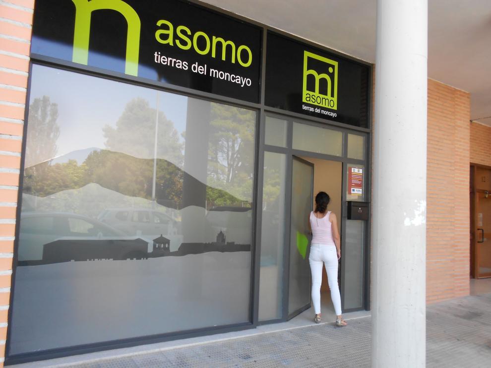 Nueva oficina de Asomo en Tarazona.