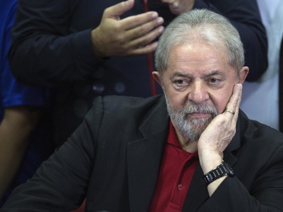 El expresidente brasileño, Lula da Silva