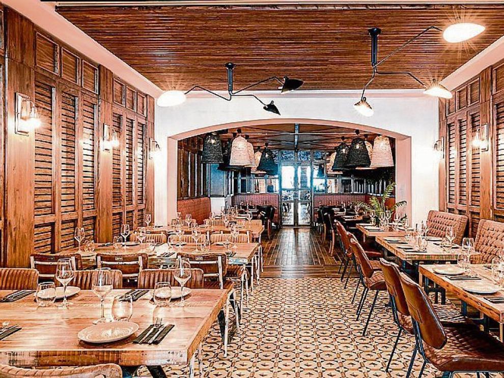 La sala del restaurante Nativo.