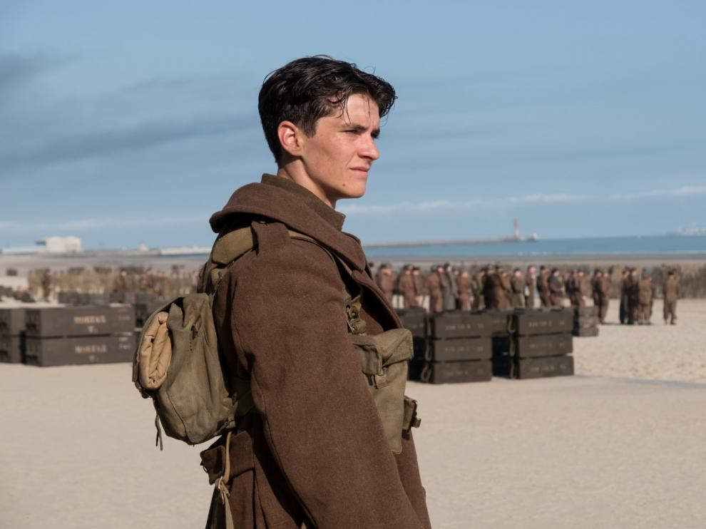 Fotograma de la película de Christopher Nolan que trata sobre la II Guerra Mudial.