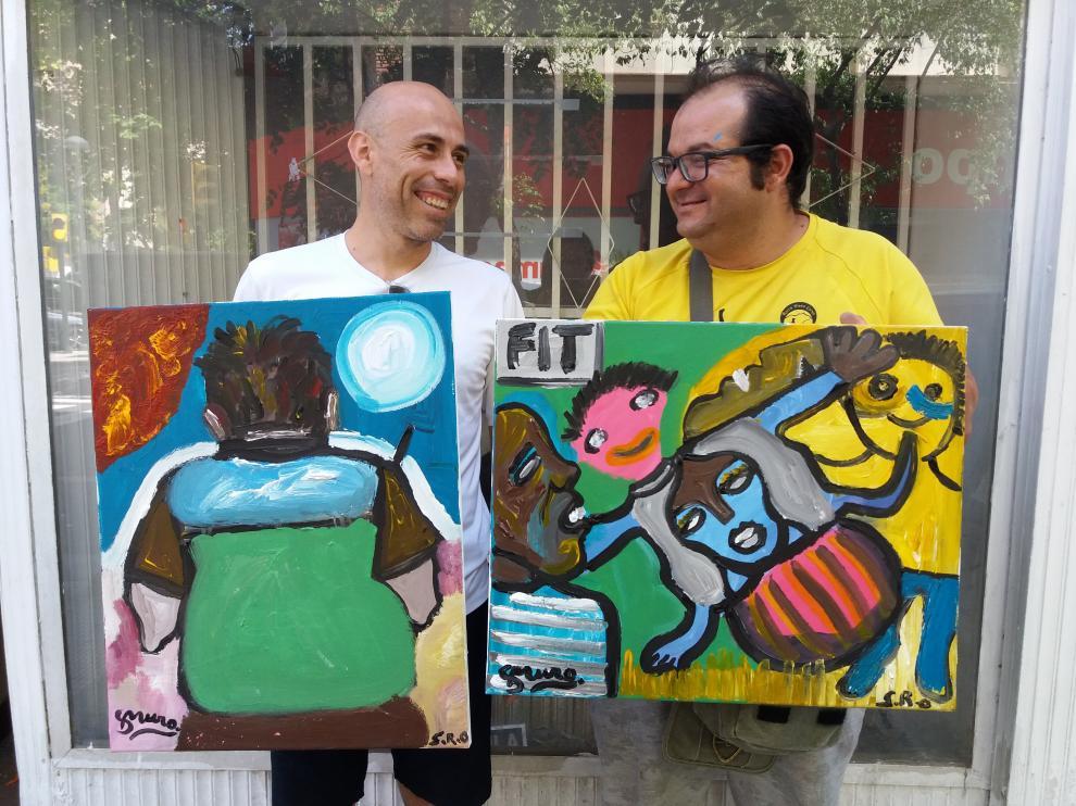 Arte y discapacidad se unen en el proyecto 'Arte de tú a tú'