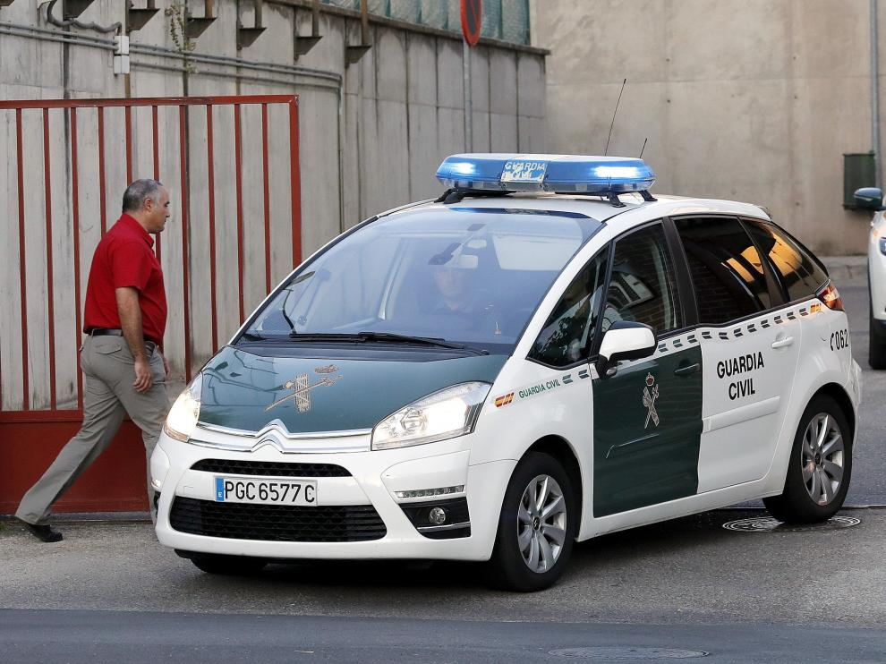 Ángel María Villar ha sido trasladado esta mañana por la Guardia Civil a la Audiencia Nacional.
