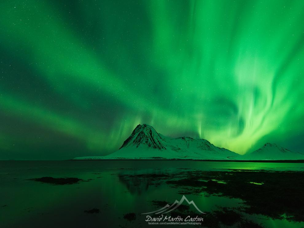De Zaragoza a Islandia a la caza de auroras boreales