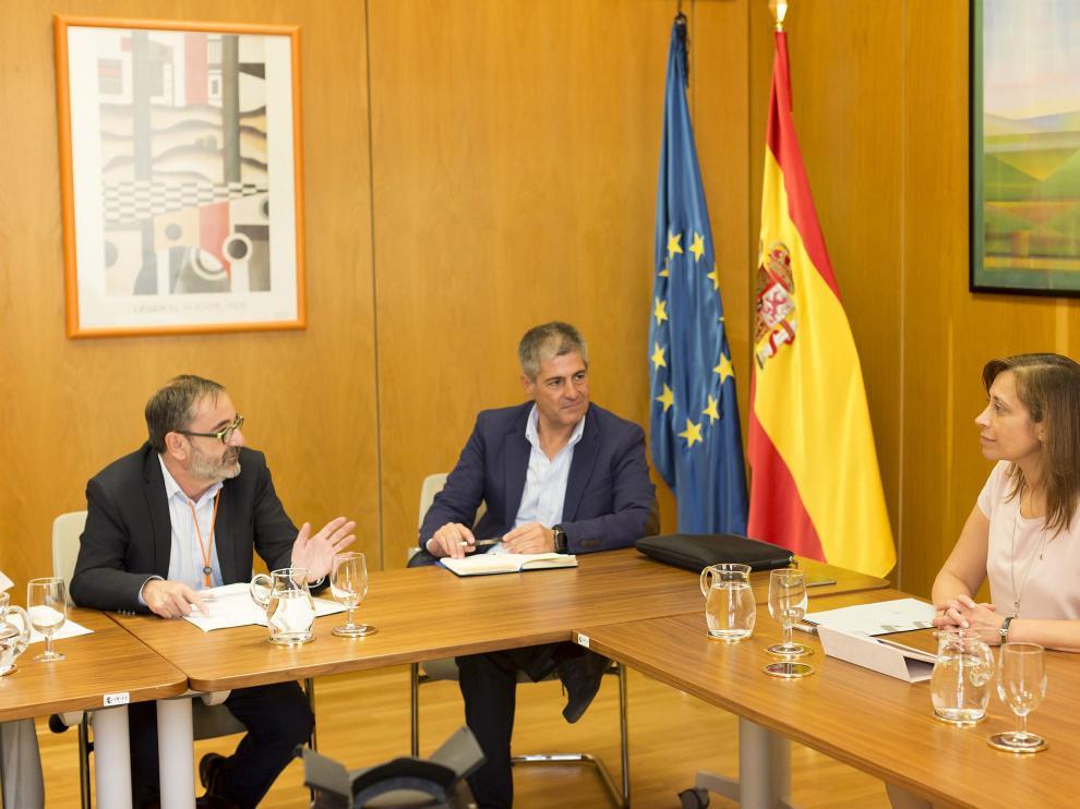 Reunión del Pacto Nacional del Agua en el Ministerio de Agricultura