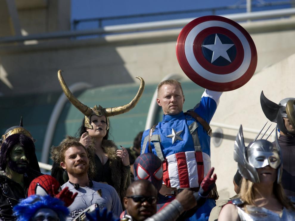 Los mejores disfraces de la Comic-Con