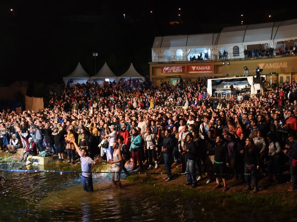 Concierto de Residente, este viernes, en Pirineos Sur.