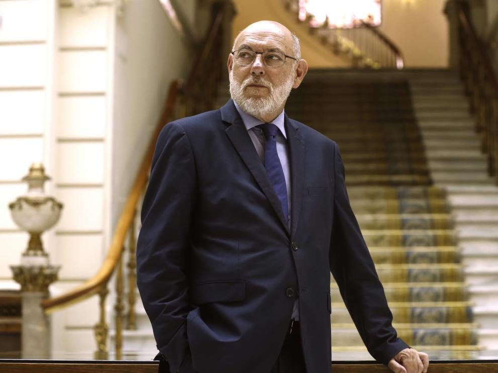 El fiscal general del Estado, José Manuel Maza, este sábado en Madrid.