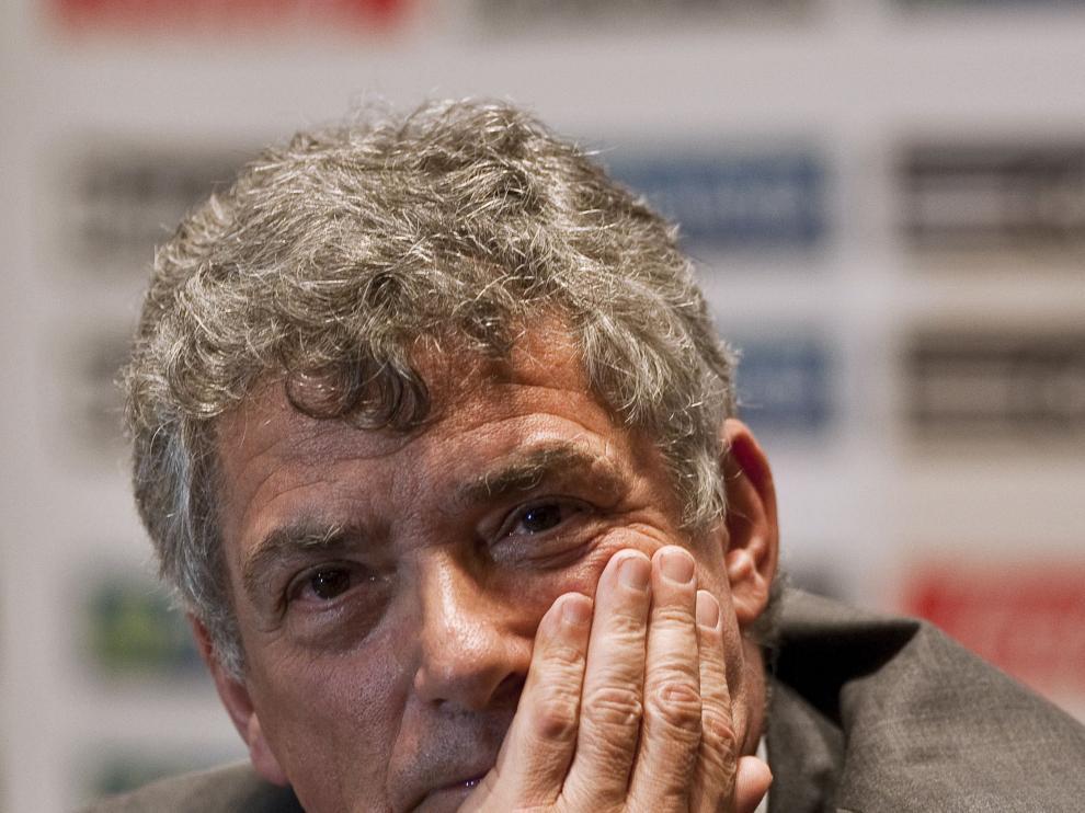 El presidente de la RFEF, Ángel María Villar.