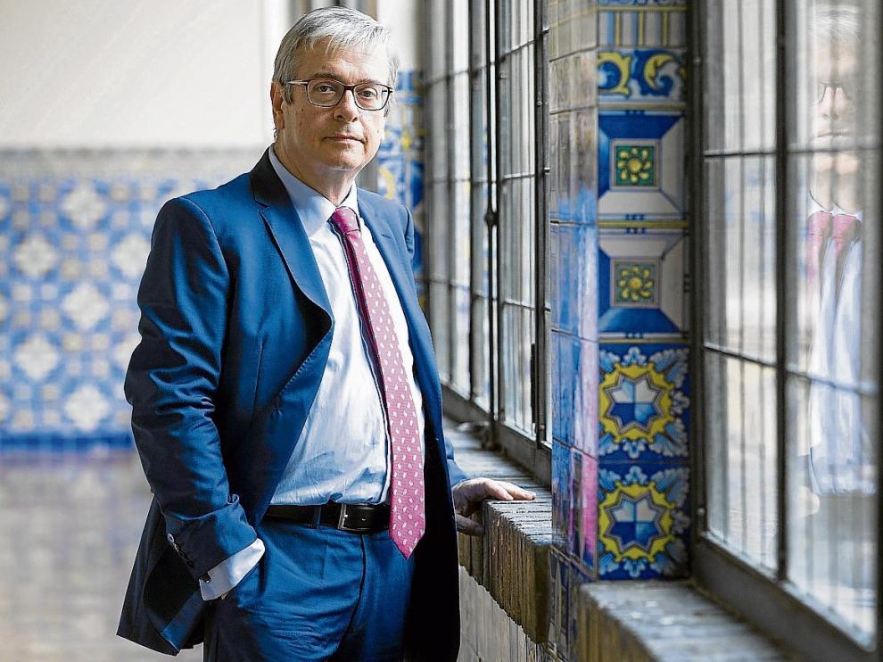 Felipe Zazurca, fiscal jefe de Zaragoza, en una imagen de archivo.