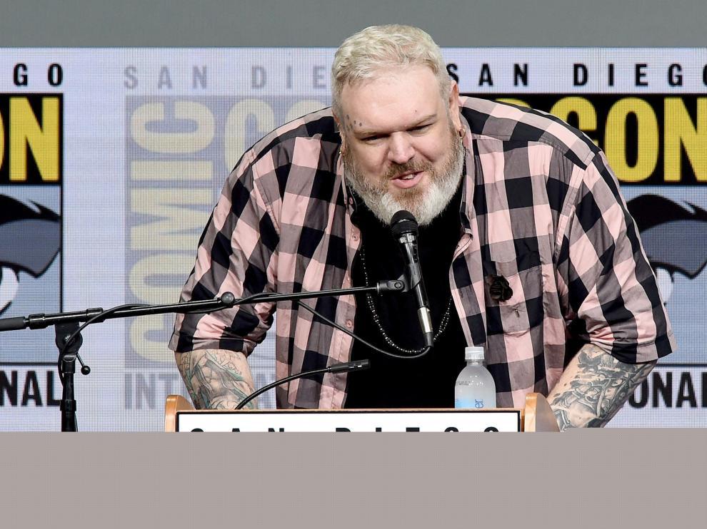 Los protagonistas de 'Juego de Tronos' este sábado en la Comic-Con.