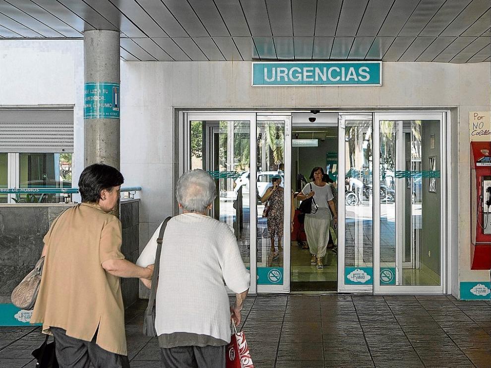 Urgencias del Miguel Servet.