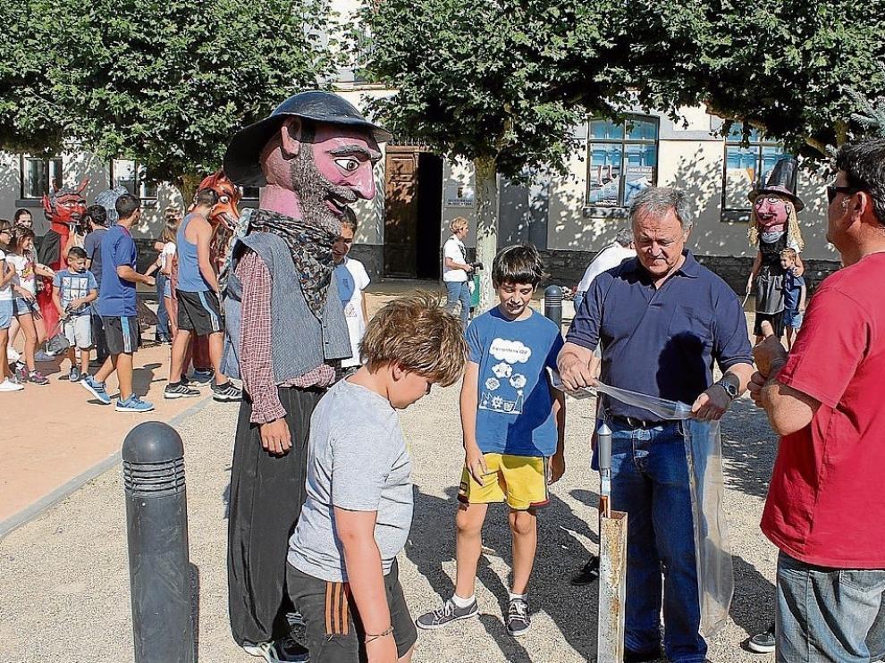 Los cabezudos volverán a ser protagonistas en los festejos de Alcubierre.