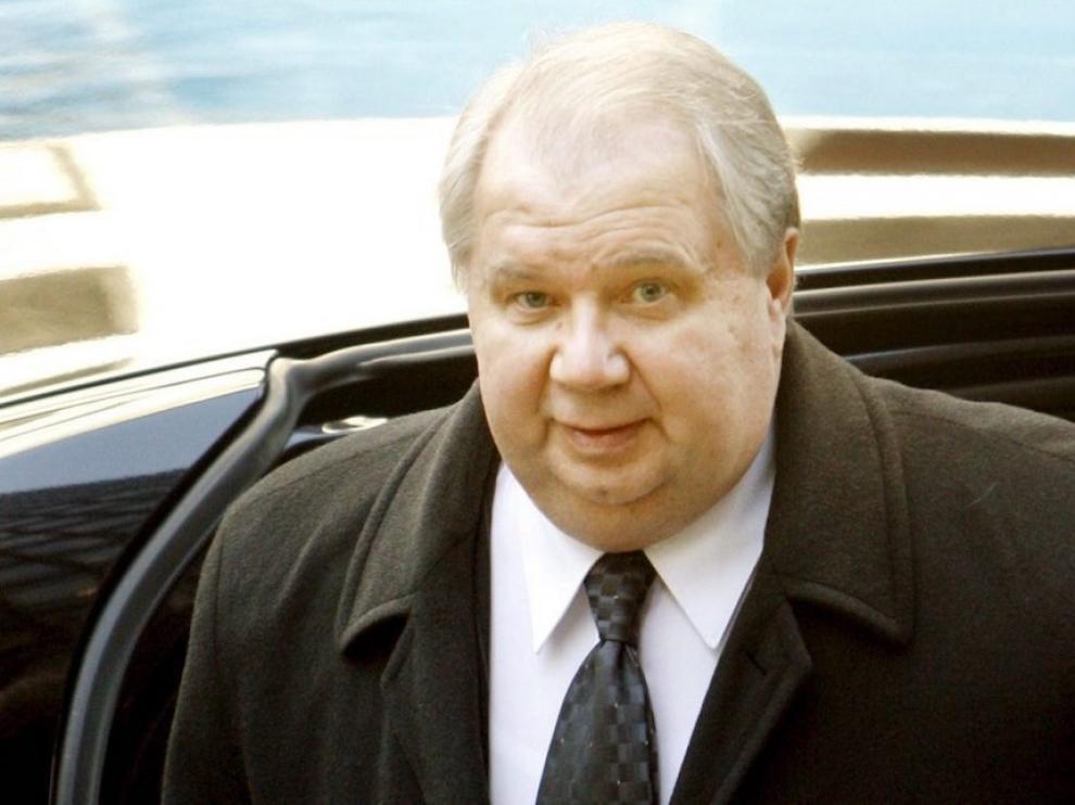 El embajador ruso en Washington, Sergei Kisliak