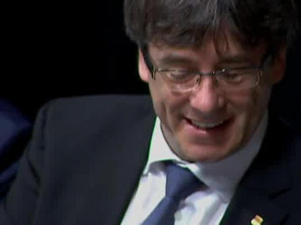 """Puigdemont: """"Si el Constitucional me inhabilita, no aceptaré la decisión"""""""