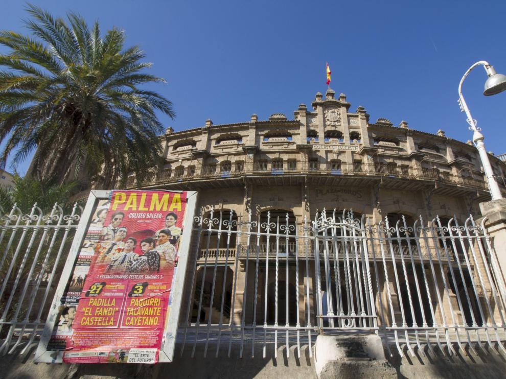 La Plaza de toros de Palma de Mallorca