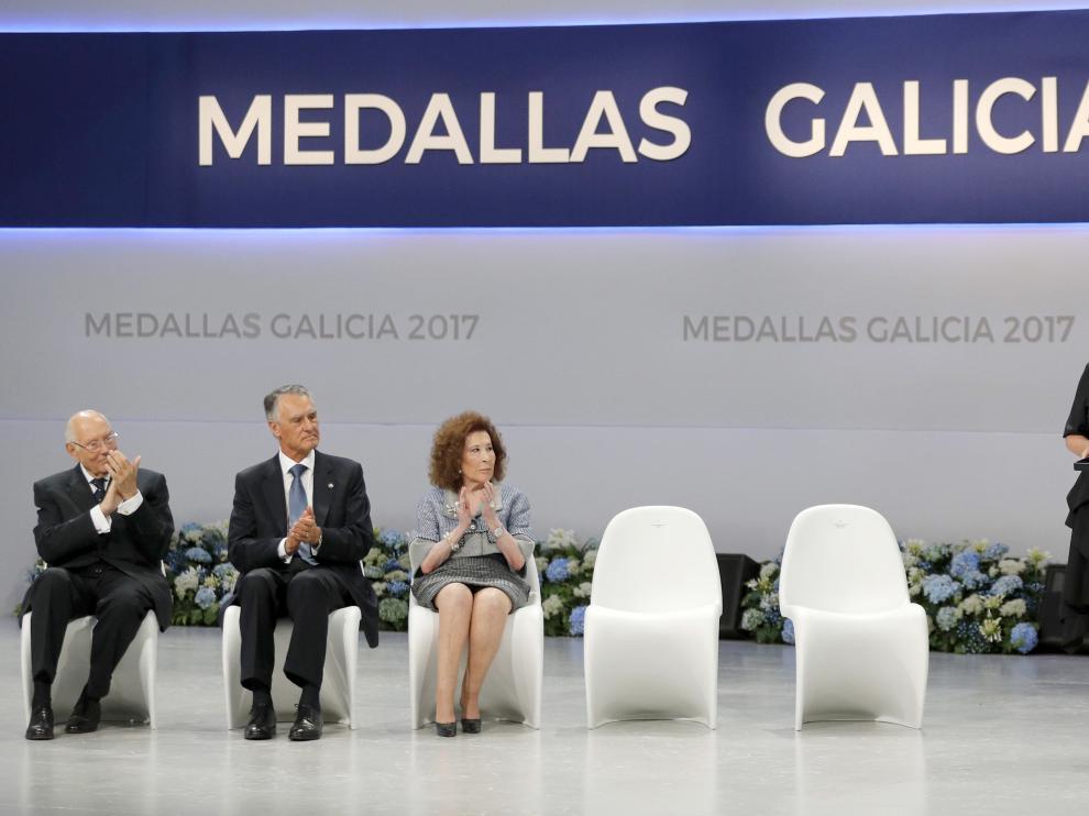 Entrega de la medalla de Galicia a Mari Mar Blanco