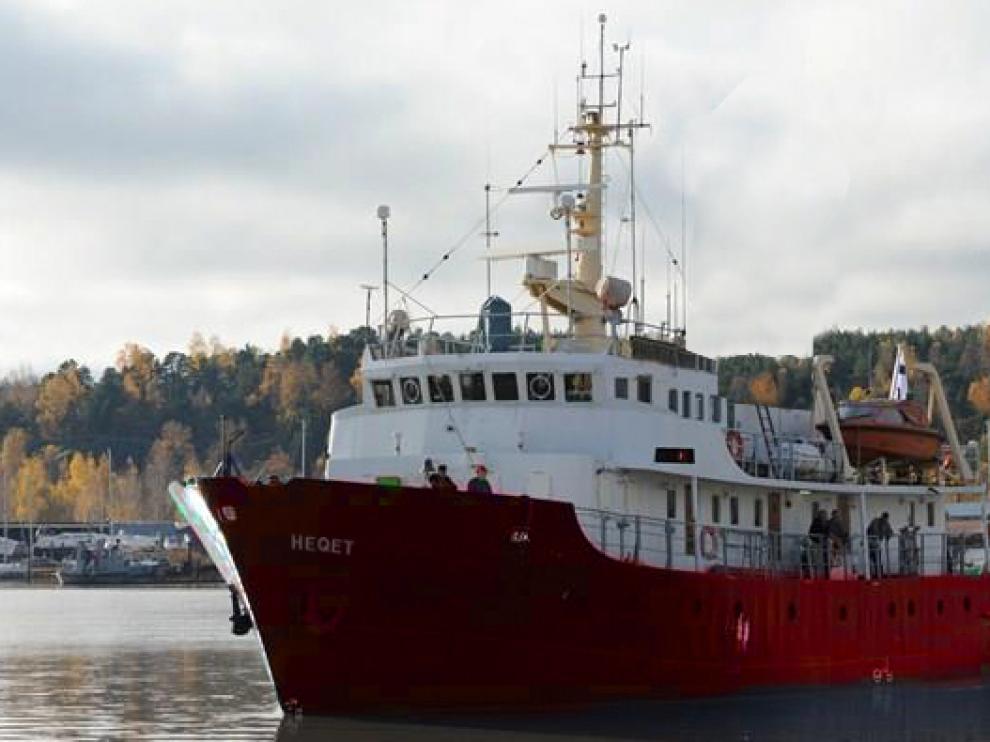 El barco antiinmigración C-Star del movimiento xenófobo Defend Europe