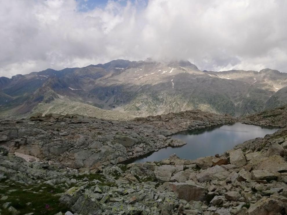 Collado de las Planas, punto más alto de la Maratón de las Tucas.