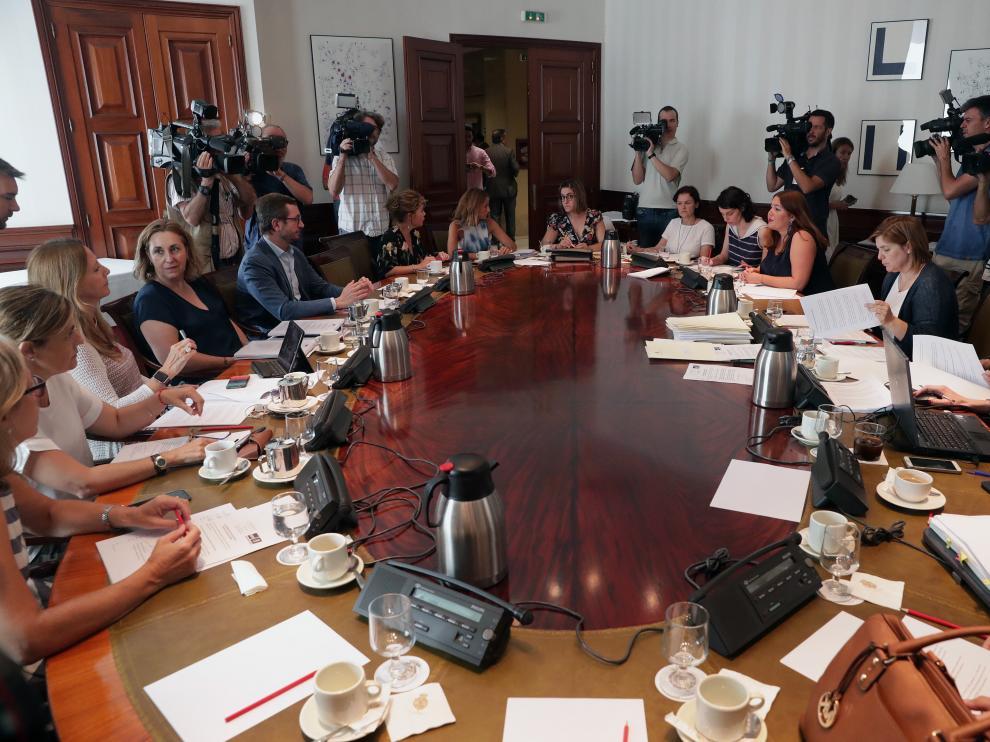 Reunión de la subcomisión del Congreso