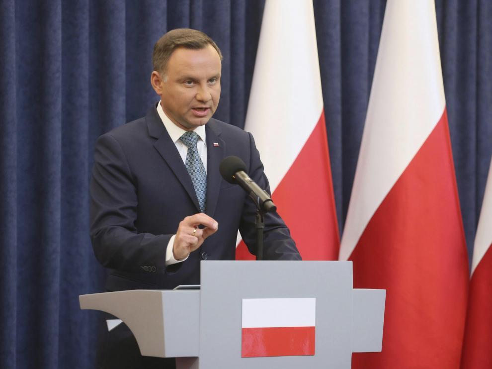 El presidente polaco, Andrzej Duda, en una imagen de archivo