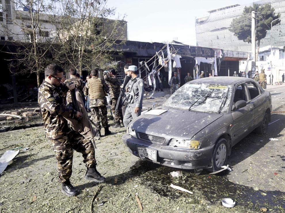 Según fuentes oficiales, el atentado ha causado 24 muertos y 42 heridos, todos ellos civiles.