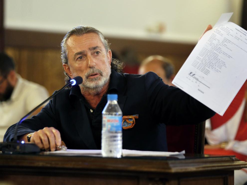 El líder de la trama Gürtel, Francisco Correa.