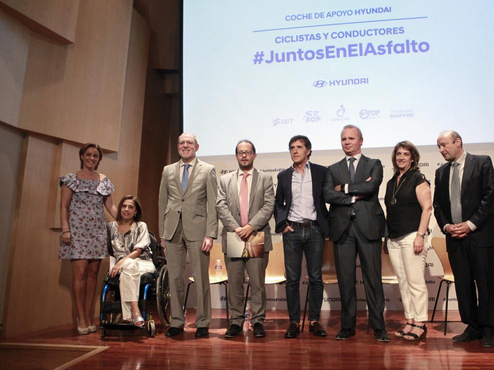 Acto de presentación de la campaña #JuntosEnElAsfalto