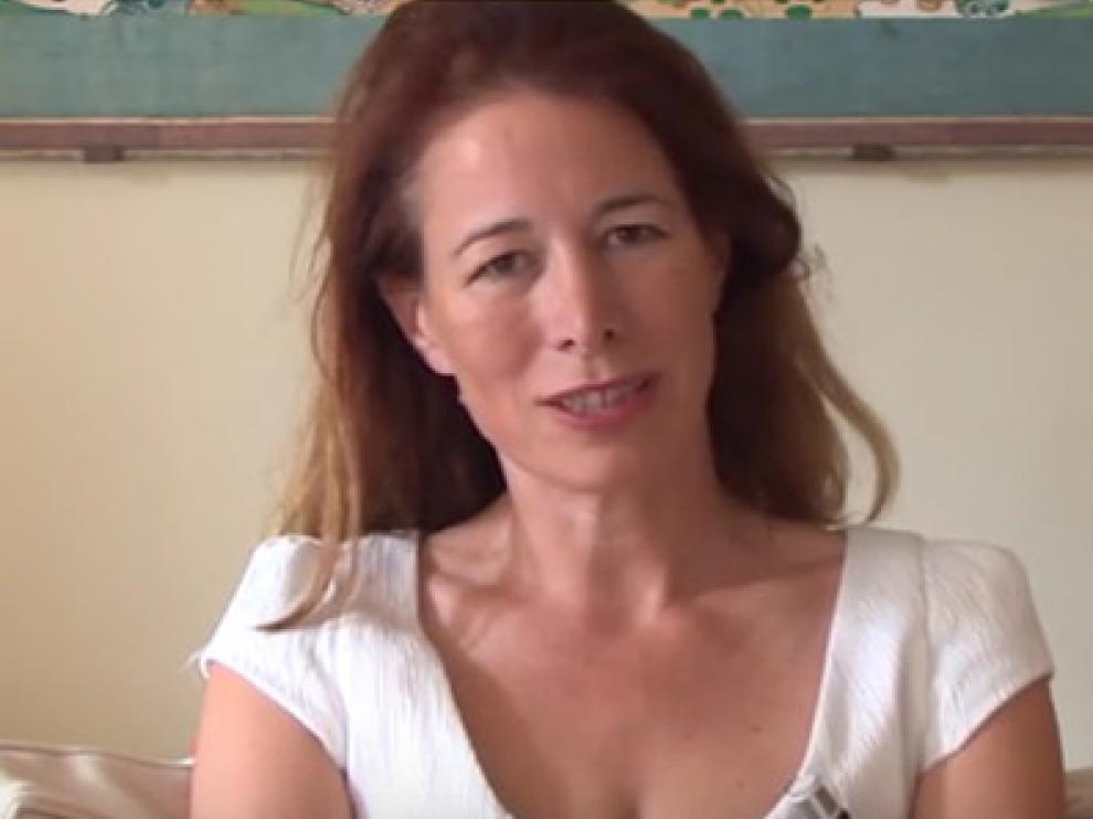 La filósofa Anne Dufourmantelle.