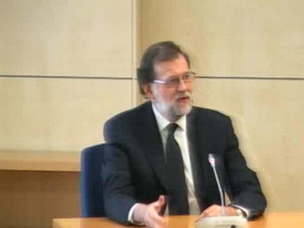 """Rajoy: """"Jamás me he ocupado de asuntos económicos en el partido"""""""